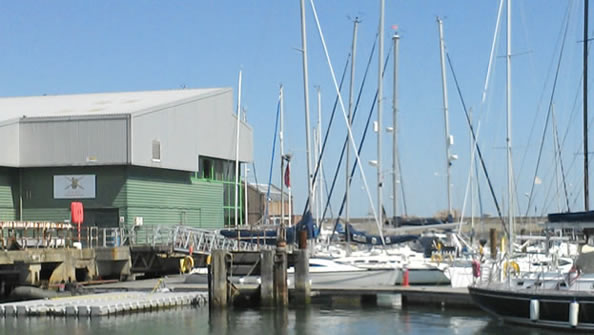 Army Offshore Sailing Centre  in Gosport