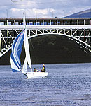 Sailing in the Menai Straits