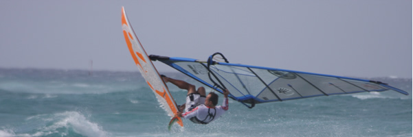Airbourne Windsurfer
